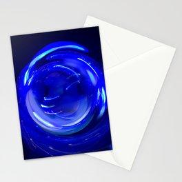 Electric Mandala 1 Stationery Cards