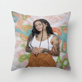 Kehlani 29 Throw Pillow