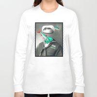 marine Long Sleeve T-shirts featuring Sardine marine by AmDuf