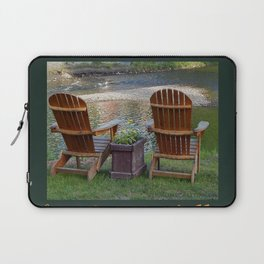 Summer By the River in the Mad River Valley, Vermont Laptop Sleeve