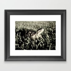 my sidekick Framed Art Print