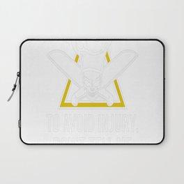 Avoid Injury, Im A Chef Laptop Sleeve