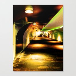 Last Stopp: Home Canvas Print