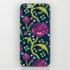 Pixel Flora iPhone & iPod Skin