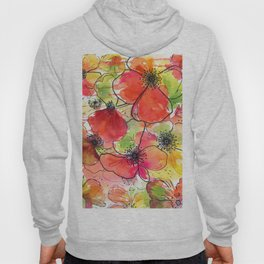 poppies = summer  Hoody