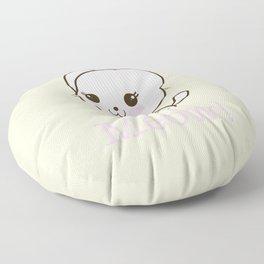 Pastel Kitten Kawaii Floor Pillow