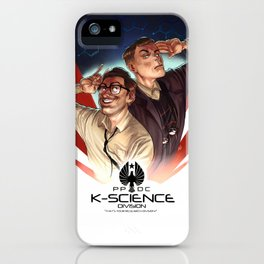 K-Science Division iPhone Case