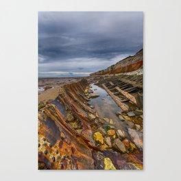 Hunstanton shipwreck Canvas Print