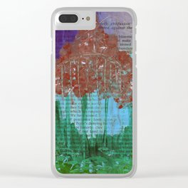 Dreamscape 30 Clear iPhone Case