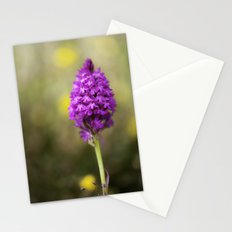 Pyramidal Orchid Stationery Cards
