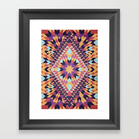 Ticky Ticky Framed Art Print