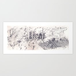 light no.2 Art Print