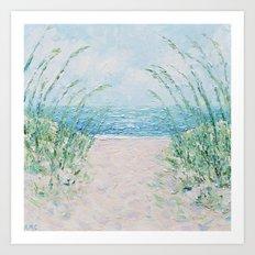 Sandfiddler Breeze Art Print