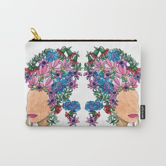 Exotic Beauty Carry-All Pouch