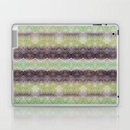 paisley ribbon in lime Laptop & iPad Skin