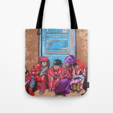 Muslim Children Tote Bag