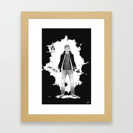 Dean, kicking ass and taking names Framed Art Print
