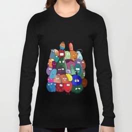 Annoying monsters Long Sleeve T-shirt