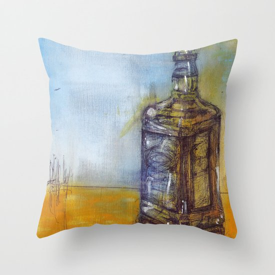 JD Throw Pillow