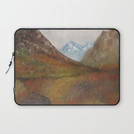 Arran, Scottish landscape by Lu Laptop Sleeve