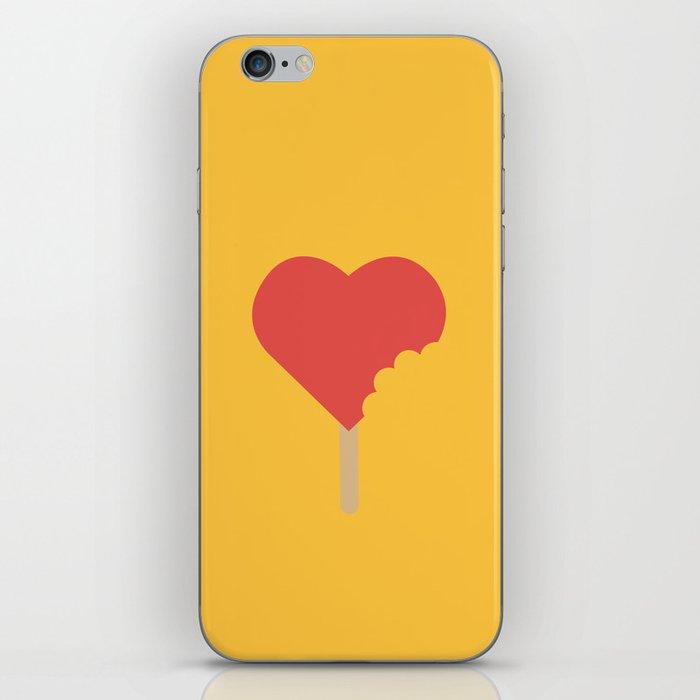 Bite of love iPhone Skin