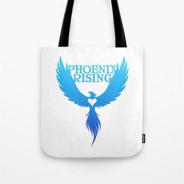 PHOENIX RISING - blue Tote Bag