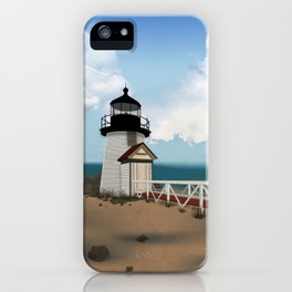 Brant Point Light iPhone Case