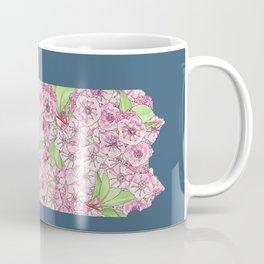 Pennsylvania in Flowers Coffee Mug