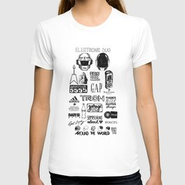 Deconstructing Daft Punk T-shirt