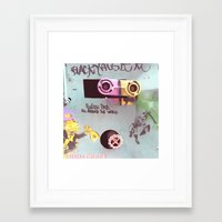 wall e Framed Art Prints featuring WALL-E by Oy Photography