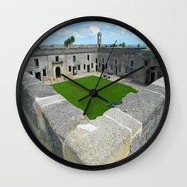 Castillo De San Marco Wall Clock