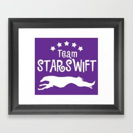 Team Starswift  Framed Art Print