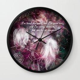 sky parents Wall Clock