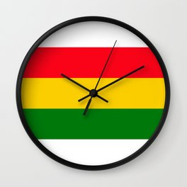 One Love II Wall Clock