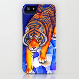Chinese Zodiac Year of the Tiger iPhone Case