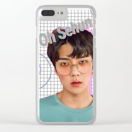 Oh Sehun Clear iPhone Case