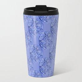 Celtic Blue Pattern Travel Mug