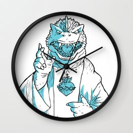 Kaiju savior Wall Clock
