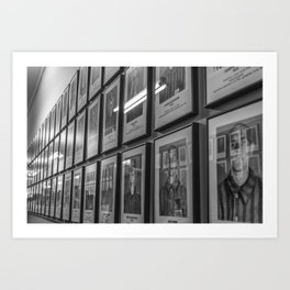 Auschwitz Art Print