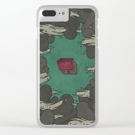 Weather the Storm Clear iPhone Case