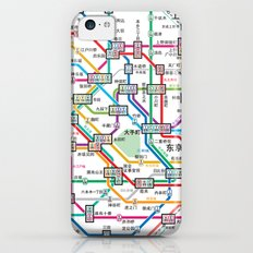 Tokyo Subway Map iPhone 5c Slim Case