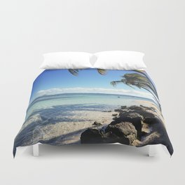 Tides and Tomorrows Duvet Cover