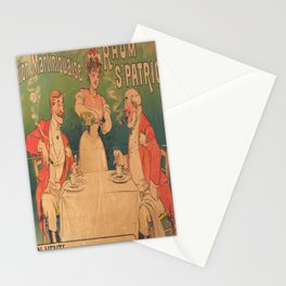 rhum st patrice union martinique vintage Poster Stationery Cards