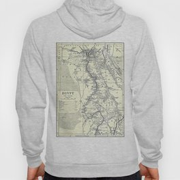 Vintage Map of Egypt (1911) Hoody