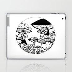 Mushroom Art Hand drawn design Laptop & iPad Skin