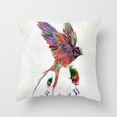 Aurical Throw Pillow