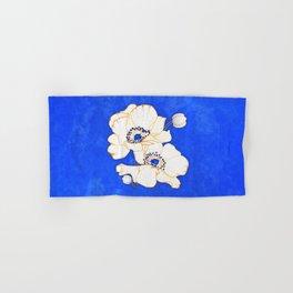 Ultramarine Blue :: Anemones Hand & Bath Towel