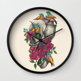 When Nature Calls Wall Clock