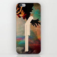 testa fusa iPhone Skin