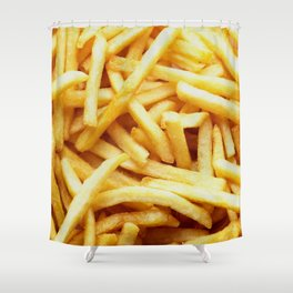 French fries pattern  Shower Curtain